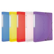 File, polypropylene box, 40 mm, assorted colours