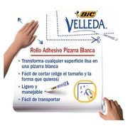 Roll of white adhesive tape whiteboard Velleda 100 x 200 cm
