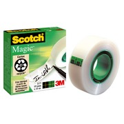 Plakband Scotch Magic invisible 19 mm x 33 m