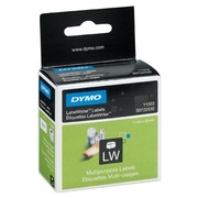 Roll, 1000 labels (by 2), Dymo paper 24x12 mm, multi-functional