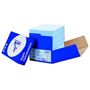 Paper colour blue A4 80 g Clairefontaine Trophée pastel colours - Box of 2500 sheets