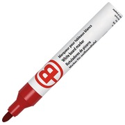 Erasable marker, JMB plastic body - red