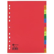 JMB set of monthly dividers, French version, polypropylene, colour, A4