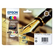 Pack of 4 cartridges Epson 16XL black + colours
