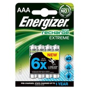Pack of 4 batteries Extreme AAA