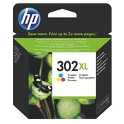 Cartridge HP 302XL high capacity 3 colours for inkjet printer