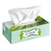 Tissues Le Trèfle with aloe vera - Box of 80