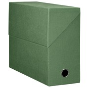 Filing box cardboard Fast back 12 cm green