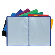 Display Book Opaque PP Welded A4 - Assorted colours (8530E)