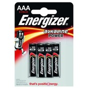 Blister of 6 batteries LR03 Energizer Power