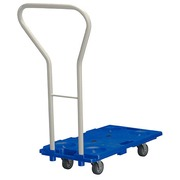 Mobile and stackable plateau with handle - capacity 150 kg