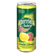 Water Perrier & Juice lemon guava 25 cl - pack of 24 cans