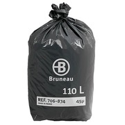 Garbage bag 110 liter Bruneau - pack of 200