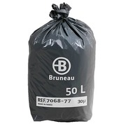 Garbage bag 50 liter Bruneau - pack of 200