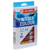 Talens Art Creation aquarelverf tube van 12 ml, set van 8 tubes in geassorteerde kleuren