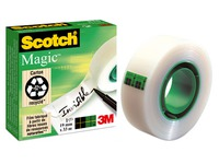 Scotch Magic invisible clear tape 19 mm x 33 m