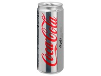 Pak 24 blikjes Coca Cola Light 33 cl