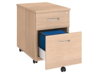 Mobile cabinet 2 drawers oak Arko