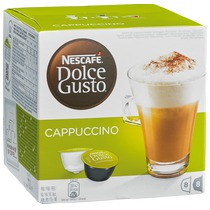 Dolce gusto cappuccino 16 cups-8 dranken