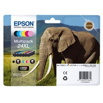 Epson Ink Cart-Claria PhotoHD 24XL Elephant MP (C13T24384011)