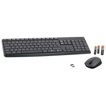 Logitech MK235 Wireless Keyboard and Mouse Combo-GREY-NLB-2.4GHZ-CENTRAL-(GREY (920-007911)