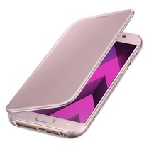 Samsung Galaxy A5 (2017) Clear View Cover Roze