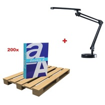 200 x Double A Everyday ref D470500 + GRATIS 1 x Lamp 5010640