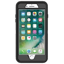 Zwarte Defender Rugged Case voor de iPhone 8 Plus-7 Plus-6(s) Plus
