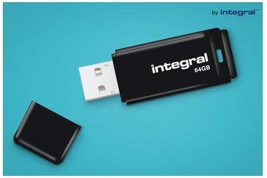My USB-stick from 64 GB from Integral regarless the amount