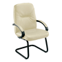 Manager visitor armchair leather