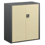 Cabinet Union with swinging doors H 100 cm anthracite