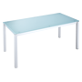 Meeting table Krystal 160 x 80 cm sea green