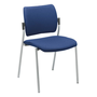 Chair Yota completely in tissue aluminium legs